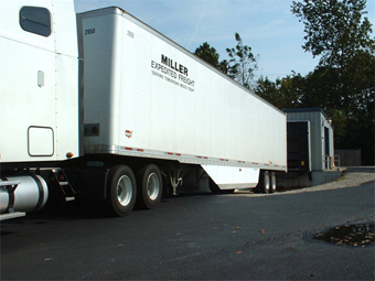 Semi Trailer Aerodynamics with Belly Fairing Installed