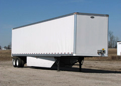 Semi Trailer with Belly Fairings